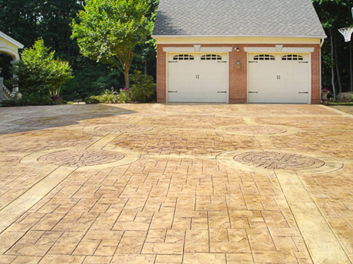 Stamped Concrete Patio   Driveway   Pool Deck   Walkway | Manassas,  Fairfax, Sterling, Arlington, Alexandria   Northern Virginia | M U0026F Concrete  Commercial ...